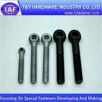 Black Carbon Steel Eye Bolt