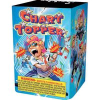 16 shots Chart Topper fireworks model TF1016C