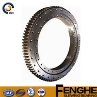 high quality low price mechanical double row slewing bearing thumbnail image