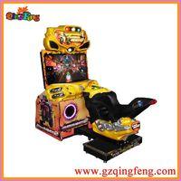Qingfeng 42 LCD FF simulator motor racing car arcade game machine