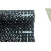 Black glitter 3D self adhesive vinyl/glass film privacy film
