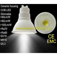 Ceramic Housing Cob Led Spotlight