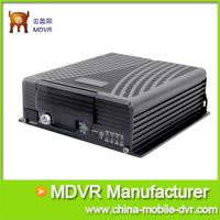 8 Channel Mobile DVR, With 3G GPS and WIFI, G-sensor for Vehicle Security, Support PTZ, Alarm, LED a