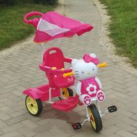 4 in 1 baby tricycles with canopy/wholesale children tricycle with push bar / multifunctions trike f thumbnail image
