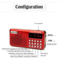 High sensitive for tour/school/training portable mini pocket digital am fm radio