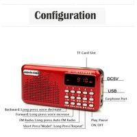 High sensitive for tour/school/training portable mini pocket digital am fm radio