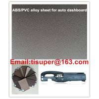 ABS-PVC alloy sheet for auto dashboard