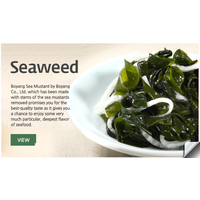Korean Fresh seafood with Seaweed