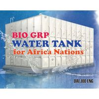 Bio GRP water tank for Africa Nations