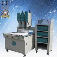 Plastic products welding machine