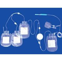 blood bag with in-line filters