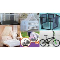 Mosquito Nets / Children Bike / baby carrier / Safety Gate thumbnail image