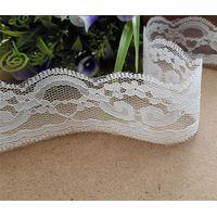 Non-elastic lace trim
