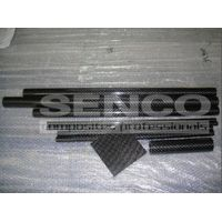 3k woven carbon fiber tube for machine