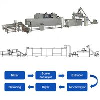 corn flakes production line twins screw extruder thumbnail image