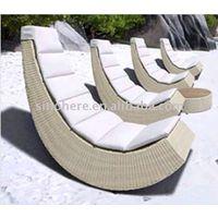 rattan sun chaise lounge