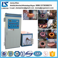80kw Induction Heating Machine for quenching hardening forging tempering