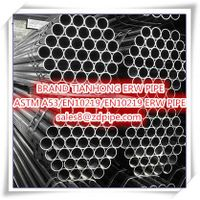 ASTM A53 Q195-Q235 ERW Round mild steel pipe