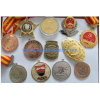 custom kinds of badges/metal medals/sports trophy/souvenir coins/military badge thumbnail image