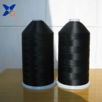 Xtaa040 Black Carbon Conductive Nylon Filaments 20d/3f Imtermingling with 75D Black FDY Polyester Fi