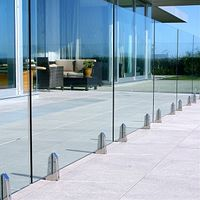 Architectural and decorative tempered toughened glass