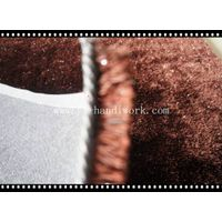 hot sale fashion polyester shaggy rug for online store importer