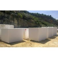 Pure White Marble Blocks from Nastoma Stone Vietnam