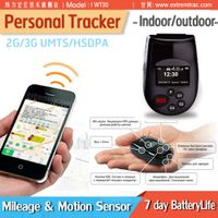 LCD 3G GPS Personal Tracker Phone SOS Elderly Locator