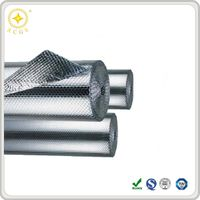 Heat Resistant Pipe Insulation, Aluminum Foil Air Bubble Insulation