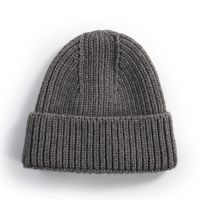 Wholesale Acrylic Custom Embroidery Winter Knitted Beanie Hat Custom Winter Hat
