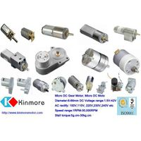 12~80mm DC Gear Motor