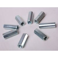 high quality carbon steel DIN6334 galvanized hex long nut coupling nut thumbnail image