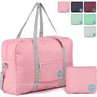 Foldable Travel Duffel Bag Luggage Sports Gym Water Resistant Nylon thumbnail image