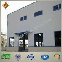 Light Prefabricated Fabrication Steel Structures for Workshop and Warehouse