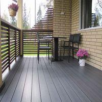 Waterproof Outdoor Flooring WPC Used Composite Decking