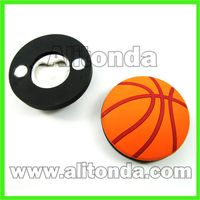 Small cartoon ball button shape beer bottle opener for home bar