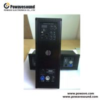 D-1268, D-1288, 2.1 system amplifier two way professional amplifier module
