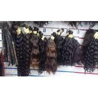 wefted  hair extension
