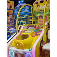 Coin operated arcade street basketball machine for kids