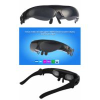 VR headset, VR glasses, FPV glasses, 3D 98 inch 854*480P Head-Mounted Display, HDMI interface