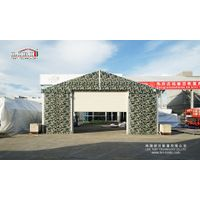 Flame Retardant Military Hangar Tent for Aircraft and Helicopter