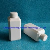 250ml square plastic chemical reagent bottle