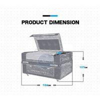 AKJ1390 cnc co2 nonmetal laser cutting machine with ruida cutter laser controller reci 90W 100W thumbnail image