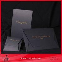 Fashion Envelop Paper Gift Box Packaging with custom logo design thumbnail image