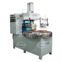HR-15KW-4AC Turntable high frequency welding and cutting machine