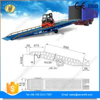 7LYQ Shandong SevenLift steel mobile forklift yard ramp for container unloading thumbnail image