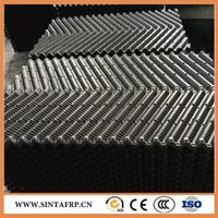 cross fluted cooling tower fill media