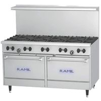 Gas Ranges 10 burners