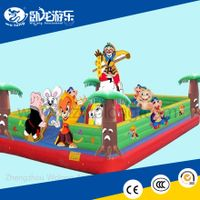 Customize PVC Tarpaulin Inflatable Horse Bouncer for Sale