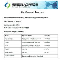 Ethyl chloro[(4-methoxyphenyl)hydrazono]acetate thumbnail image